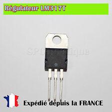 5x Régulateur de tension LM317T / 1,2..3,7V 1,5A  Boitier TO220