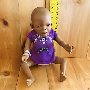 RARE FAS Fetal Alcohol Syndrome Baby Think It Over Medium Skinned Female
