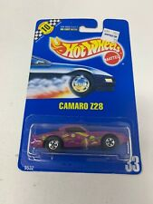 1990 HOT WHEELS BLUE CARD / SPEED POINTS #33 CAMARO Z28 DIECAST