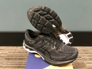 Men's Size 10.5 Asics Gel Kayano 27 MK Running Shoes New In Box Black/CarrierGry