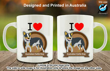 I Love Australian Cattle Dog Lover Coffee Personalised Custom Mug Funny Gift