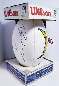 San Diego Chargers Signature Series NFL Official Licensed Football Signed #31