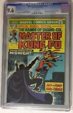 Special Marvel Edition #16 CGC 9.6 White Pages 1st App Midnight & 2nd Shang Chi