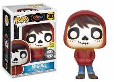 Miguel coco gitd Glow in the Dark Exclusive pop! Disney #303 Vinyl personaje funko