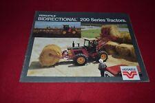 Versatile 276 256 Bidirectional Tractor Dealer's Brochure AMIL13