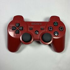 Genuine OEM Sony PlayStation 3 PS3 Sixaxis Dual Shock 3 Controller Red CECHZC2U