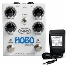 T-Rex Hobo Drive Overdrive / Preamp / Boost pedal w/ 9v power supply