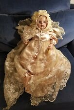"Fayzah Spanos Doll ""Light of Life"" 2008 very last collection 75/100 gold outfit"
