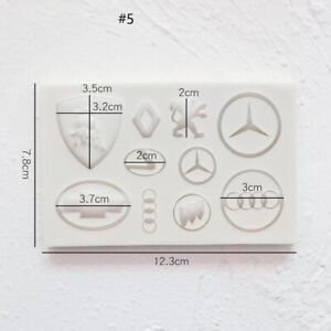 Designer SILICONE MOULD FOR Cake, toppers Cars Inspired