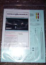 AZTEC DECALS for Star Trek 2009 movie USS Enterprise 1/500 scale