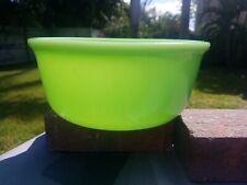 Fitzgerald Magic Maid Jadeite Bowl, Vintage and thick