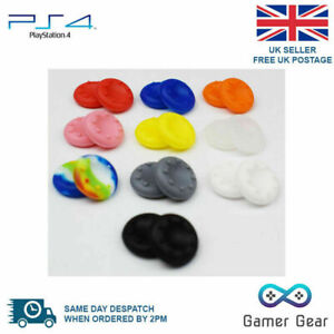 2 x Rubber Thumb Stick Thumbstick Cover Grip PS4 XBOX One Analog Controller