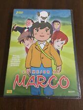 LO MEJOR DE MARCO - 2 DVD - 8 CAPITULOS - 200 MIN - NEW SEALED NUEVO EMBALADO