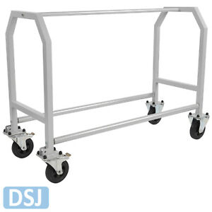 DSJ Wheel and Tyre Mobile Workshop Garage Storage Rack - Heavy Duty Mild Steel