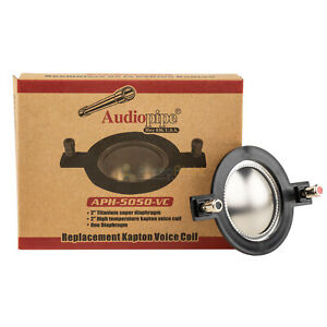 """Audiopipe 2"""" Replacement Kapton Voice Coil High Temp Diaphragm for APH-5050"""