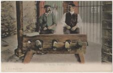 The Stocks, Brading, Isle of Wight F.G.O. Stuart 1249 Postcard B802