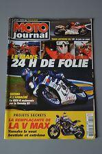 MOTO JOURNAL 1611 HONDA Shadow 750 YAMAHA 650 Drag Star 24 Heures du Mans 2004