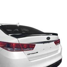 For Kia Optima 16-18 Pure Custom Style Fiberglass Rear Spoiler Unpainted