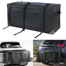 Car SUV Cargo Luggage Carrier Bag Storage Hitch Mount Waterproof Travel Racks