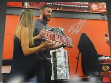 Scott Darling Blackhawks Signed 11x14 Photo Autograph Auto Darling Authentic *02