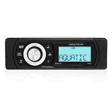 Aquatic AV Shallow Mount Bluetooth USB Waterproof Marine Boat Powersports Stereo