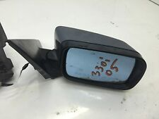 2002-2005 BMW 330xi Side Power Mirror ( Passenger ) Dark Blue OEM 325i E46