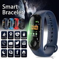 Smart Band Watch Bracelet Fitness Activity Tracker Blood Pressure Heart Rate