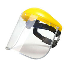 Clear Safety Grinding Face Shield Visors Screen Mask  For Eye Face Protection