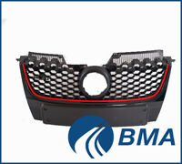VW GOLF 5 V MK5 GTI 2003-2009 FRONT GRILL GRILLE WITH CHROME GTI NEW