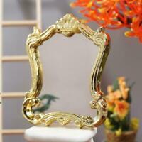 1:12 Miniature Dollhouse Furniture European Frame Mirror Accessories Dollho O1V7