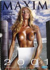 MAXIM Calendario 2001 Elenoire Casalegno fotografata da Marino Parisotto