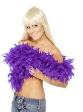 Boas, écharpes et guirlandes violet pour déguisement et costume
