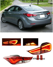 Rear LED Tail Light Signal Lamps Signal Lamps For 2014-2016 Hyundai Elantra