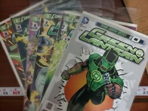 DC The New 52 Green Lantern Issues #0-#5, #6-#7 and #9-#12