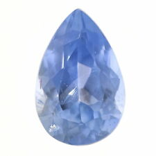 Loose Sapphire - Pear Cut 2.95ct Blue Solitaire