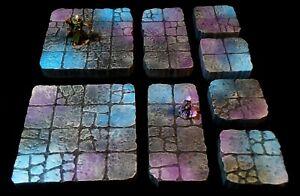 Underdark Style Dungeons & Dragons Dungeon Tiles -- RPG Terrain D&D Pathfinder