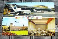 FLUGHAFEN Berlin Tempelhof PAN AM Berlin AK 50er 60er Jahre KRÜGER 921/122  å *