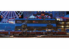 Trix 66302 Minitrix N Gauge Building Kit Harbor with 2 Cranes Half-Portal Wipp #