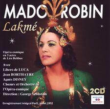 Leo DELIBES / Lakme-Mado ROBIN / (2 CD) / NEUF