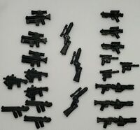 Blasters for Lego Star Wars Mini Figures - Lot of 21 Blasters