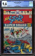 All Star Comics # 58 CGC 9.6 White (DC, 1976) 1st full appearance Powergirl
