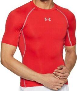 Under Armour Men's UA HeatGear Armour Short Sleeve Compression Shirt - 1257468