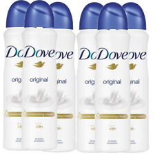 6 Pack Dove Original Antiperspirant Deodorant 48 Hr Spray, 150ml (5.07 oz)