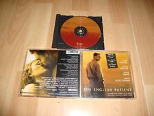 THE ENGLISH PATIENT MUSIC CD FROM ORIGINAL SOUNDTRACK RECORDING