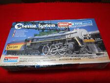 Monogram Snap Tite HO Chessie Hudson Steam Locomotive #1106 Factory Sealed Kit