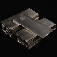 /10g Fine Pure Silver 0.999 Bar Scrap Ag Material Real Silver Bullion Plate NEW
