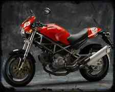 Ducati Monster 620 Capirex 1 A4 Imprimé Photo moto Vintage Aged