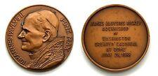Medaglia Iohannes Paulus II Pont. Max. – Retro: James Aloysius Hickey Archbishop