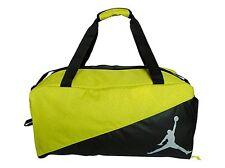 NEW Nike Air Jordan  Duffle Bag Gymbag School Bag Electrolime/Black