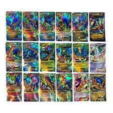Funny 18Pcs Pokemon TCG 18 CARD MEGA Poke Cards EX Charizard Venusaur Blastoise